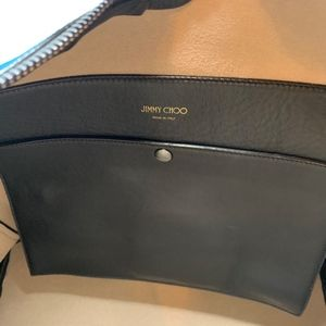Jimmy Choo Bags - Jimmy Choo Rave Suede Midnight Blue